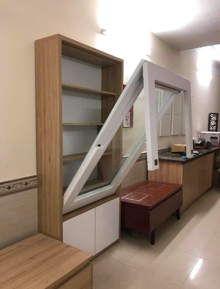 Phụ kiện bàn gấp kết hợp tủ trang trí